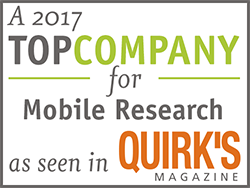 A 2017 top company for mobile research